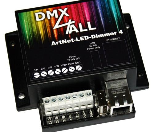 ArtNet-LED-Dimmer 4