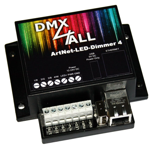 ArtNet-LED-Dimmer 4