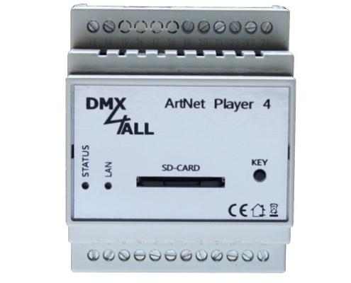 ArtNet Player 4