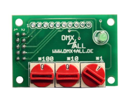 DMX-Adressmodul