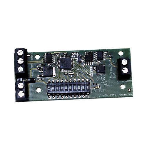 DMX-Analog 0-10V 1-Kanal