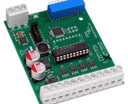 DMX-Analog 0-10V 8-Kanal