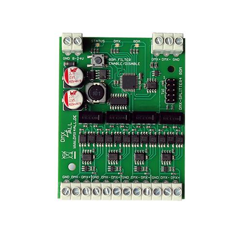 DMX-Splitter 4 RDM