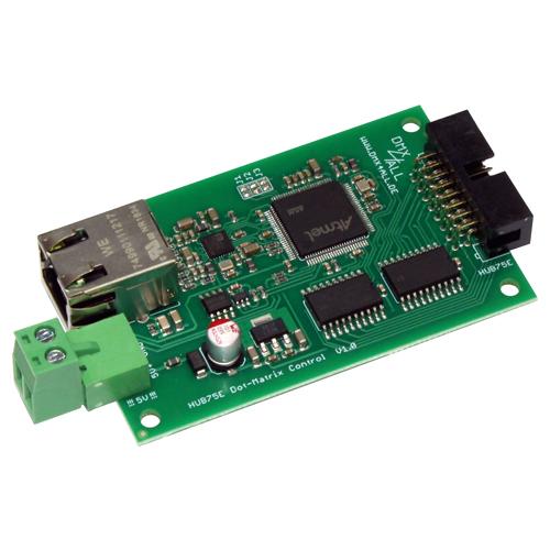HUB75E Dot-Matrix Control