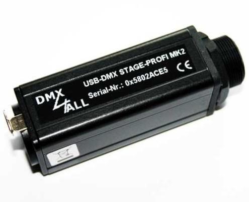 USB-DMX STAGE-PROFI MK2 XLR3