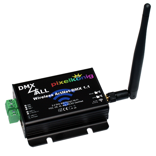 Wireless ArtNet-DMX 1.1