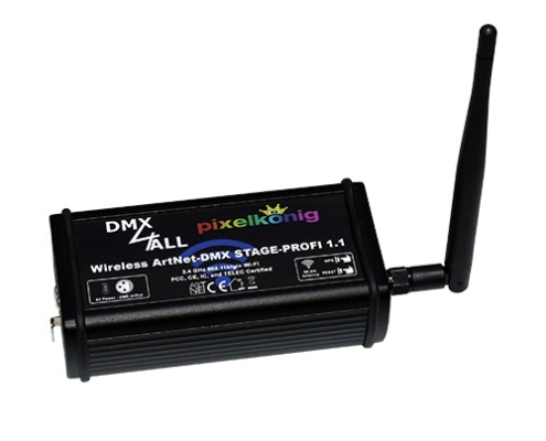 Wireless ArtNet-DMX STAGE-PROFI 1.1
